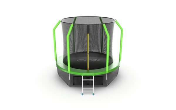 Батут EVO JUMP Cosmo 8ft (Green) + Lower net