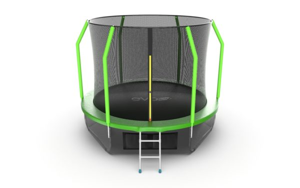 Батут EVO JUMP Cosmo 10ft (Green) + Lower net